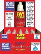 FAT TO SKINNY Zero Sweetener Display Pac